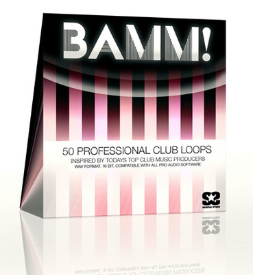 Product picture BAMM! 50 Professional Club/House Drum Loops. WAV.